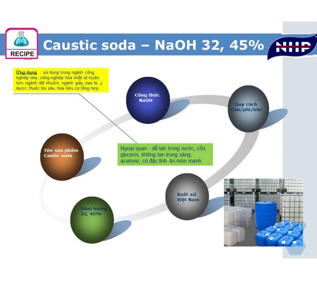 NaOH - Cautic soda 45%